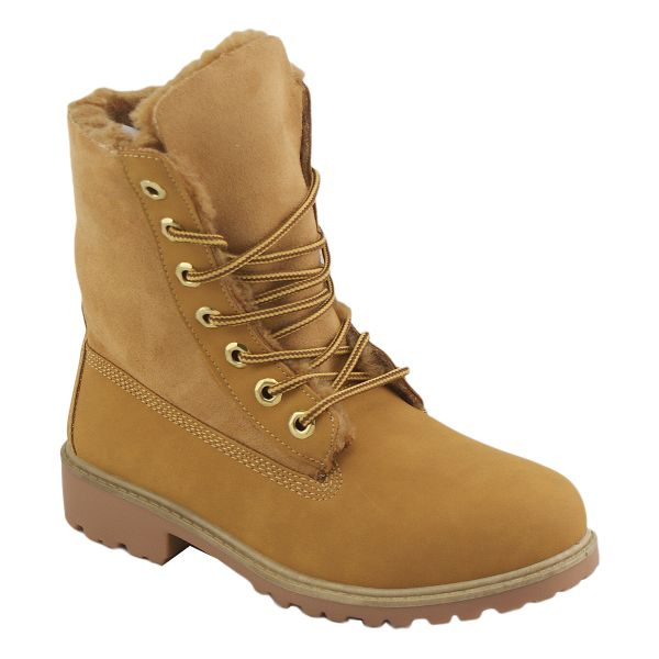 Boots R-2 camel yellow Flach