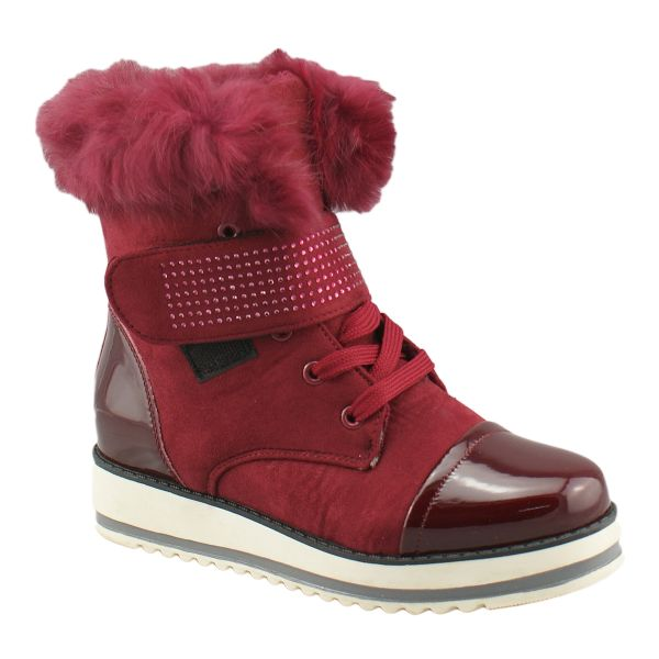 Boots H922 rot flach