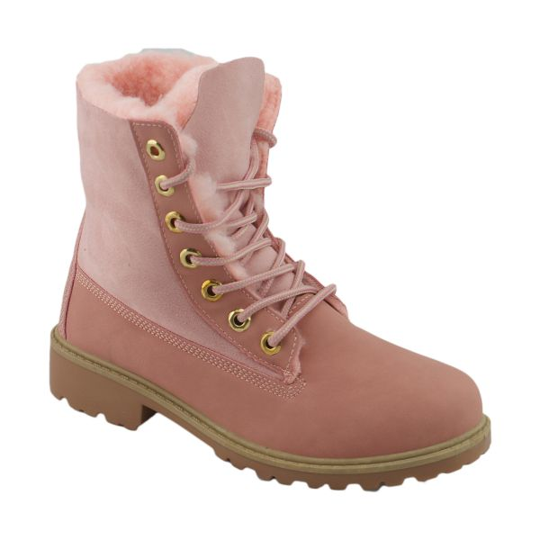 Boots R-2 pink Flach